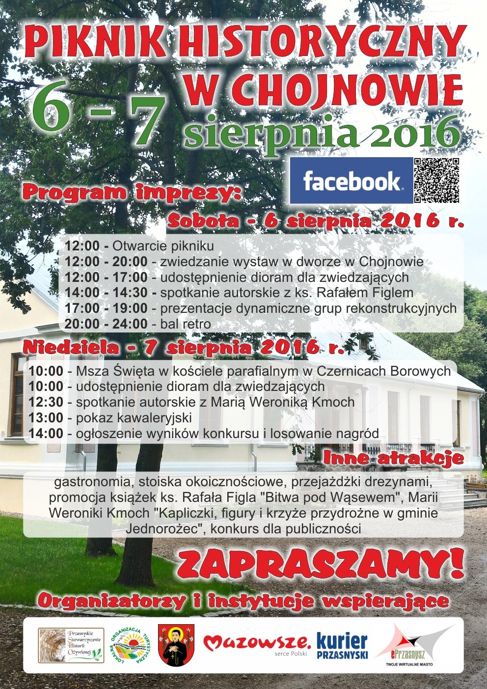 plakat chojnowo 2016 www